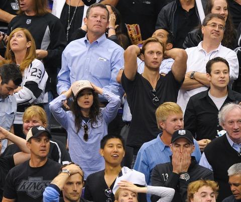 Ellen Page and Alexander Skarsgard