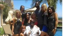 Brian McKnight -- Hosts 15 Porn Stars ... and a Little Person