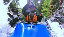 Bam Margera's PAINFUL Kayak Disaster -- Caught on Tape