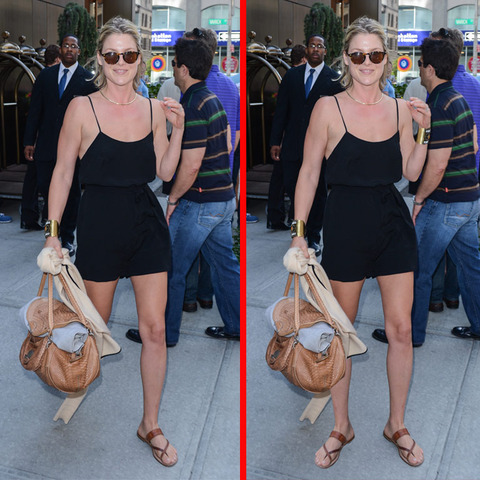 Can you spot the THREE differences in the Ali Larter picture?