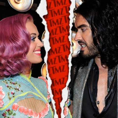 Russell Brand filed for divorce from Katy Perry in December 2011