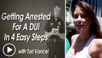 Miss AZ Teen USA Tori Vance -- Sombreros, Booze, and Driving Ain't Pretty