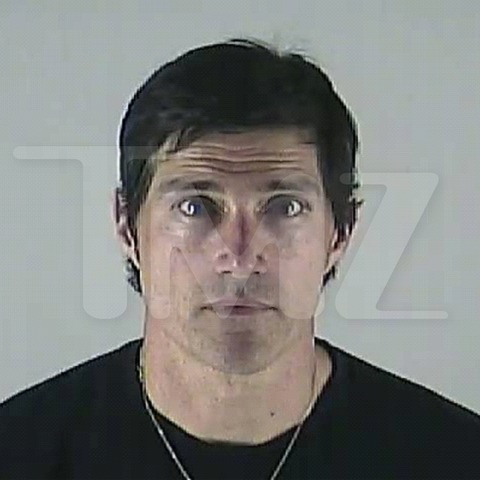 Matthew Fox mugshot taken two months after his DUI arrest in Oregon