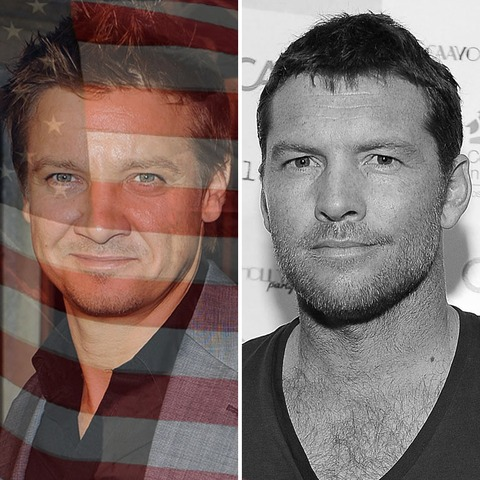 Jeremy Renner was born in the USA! Sam Worthington was born in England.