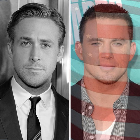 Ryan Gosling was born in Canada. Channing Tatum was born in the USA!