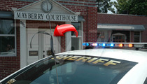 Andy Griffith Death -- Hometown Cops Don Black Ribbons