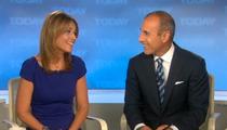 Savannah Guthrie Officially Co-Anchor on 'Today' -- Matt Lauer Gets Anchor Wood