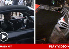 Robin Thicke -- Smashes Porsche into Parked Car