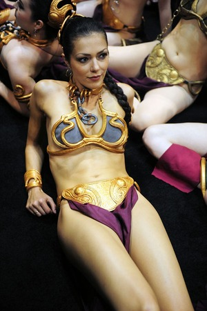 Adrianne Curry's Sexy 'Star Wars' Costumes