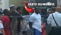 NFL Star Elvis Dumervil -- Untucked & Cuffed After Gun Arrest [Photo]