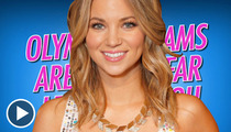 'Price Is Right' Hottie -- Olympic Medals Come CHEAP!!