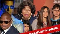 TJ Jackson Appointed Temporary Guardian of Michael Jackson Kids -- Katherine Suspended
