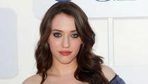 '2 Broke Girls' Star Kat Dennings -- Cleavage Battle with 'Mad Men' Chick Christina Hendricks
