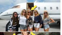 Michael Phelps' Girlfriend Megan Rossee -- Private Jet-Setting, Vegas-Hopping Hobnobber