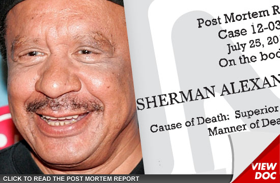 Sherman Hemsley Died From Lung Cancer Tmzcom