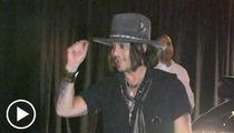 Johnny Depp -- Single, Ready to Mingle ... at Pink Taco