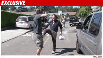 Sean Penn Paparazzi Attack -- The Haiti Factor