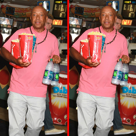 Can you spot the THREE differences in the Russell Simmons picture?