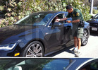 Andrew Garfield & Emma Stone -- Caught Red-Handed ... Speeding