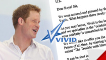 Prince Harry -- Offered $10 MILLION to Bone on Film