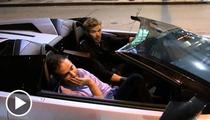Kellan Lutz in SICK Lambo -- 'I Finally Got My Twilight Check'