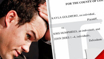 Kris Humphries Sued -- Woman Claims He Gave Her Herpes
