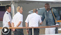 Seal on a Yacht -- Photos Spark 'Roots' Debate