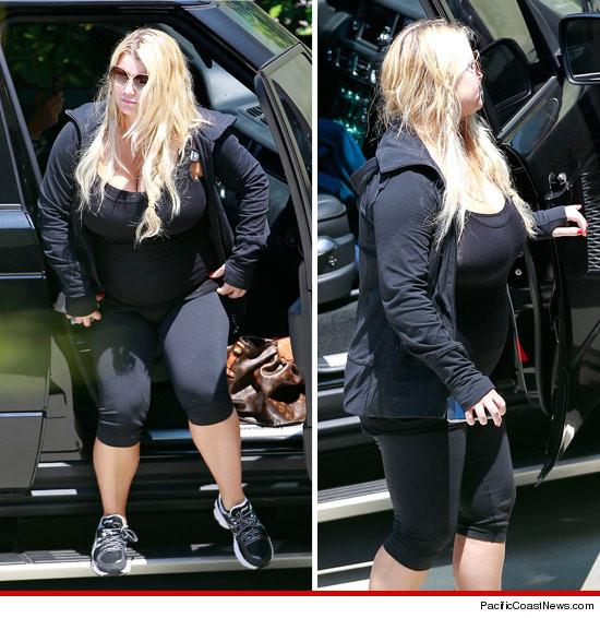 Jessica Simpson -- My Boobs Are Too Big To Go Running  Tmzcom-1540