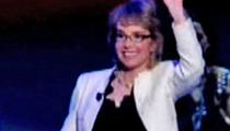 Gabrielle Giffords -- Leads INSPIRING Pledge of Allegiance at DNC