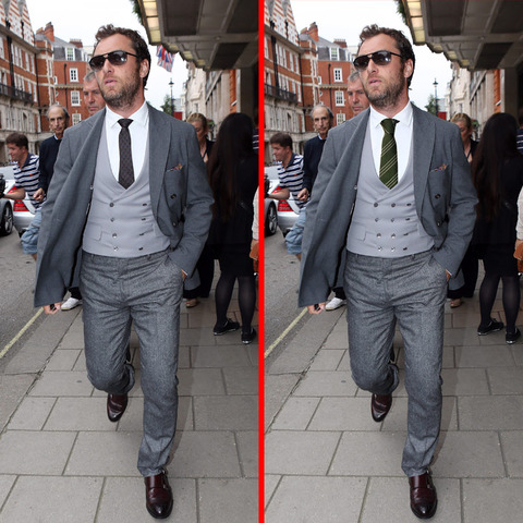 Can you spot the THREE differences in the Jude Law picture?
