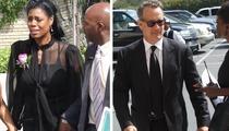Michael Clarke Duncan Funeral -- Tom Hanks Says Goodbye
