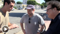 'Seinfeld' Stars Jason Alexander and Wayne Knight -- It's a TRICK OFF!!!