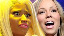 Nicki Minaj PISSED at 'American Idol' Producers -- Stop Fueling Mariah Carey!