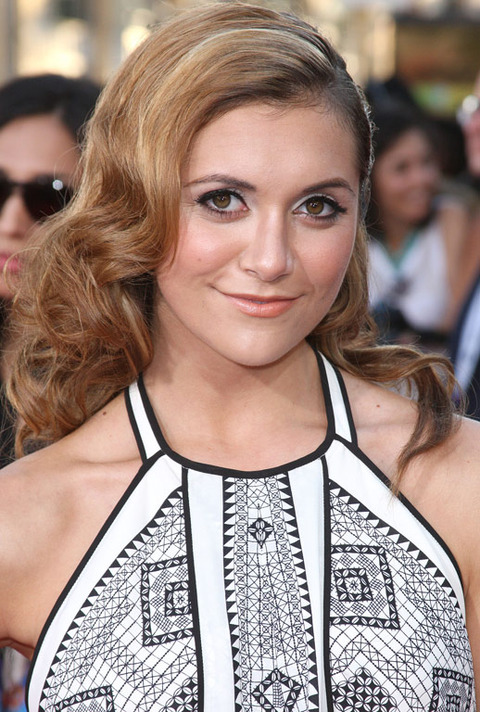 Alyson Stoner was spotted out looking elegant.