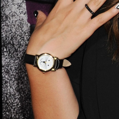 Guess whose watch says 11:57?