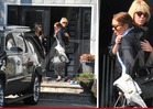Lindsay Lohan -- HUGS IT OUT with Dina