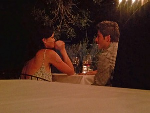 Bachlorette Courtney Robertson and Ari Luyendyk Jr. Caught in the Act!