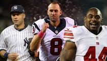 Derek Jeter -- Two Huge NFL Stars Vouch for Ankle Doctor