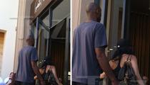 Kobe Bryant & Vanessa -- HOT LUNCH DATE