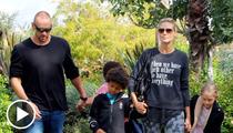 Heidi Klum -- Hey Seal, Read My Shirt And Weep!