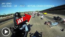 Jay Leno -- CRAZY Motorcycle Crash Footage Surfaces