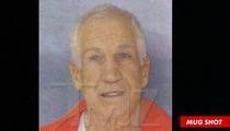 Jerry Sandusky -- The New PRISON Mug Shot