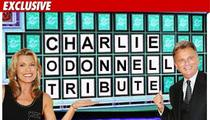 Pat Sajak Tapes Tribute to 'Wheel' Announcer