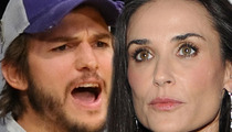 Ashton Kutcher and Demi Moore -- NO Movement Toward Divorce