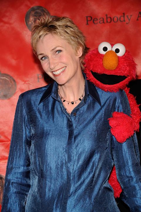Elmo with Jane Lynch