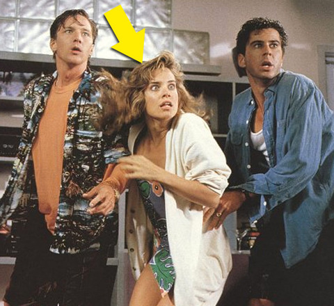"""Catherine Mary Stewart is best known for playing the sexy intern Gwen in the 1989 comedy """"Weekend at Bernies."""""""