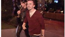 Frankie Muniz and GF -- Public Display of Affection
