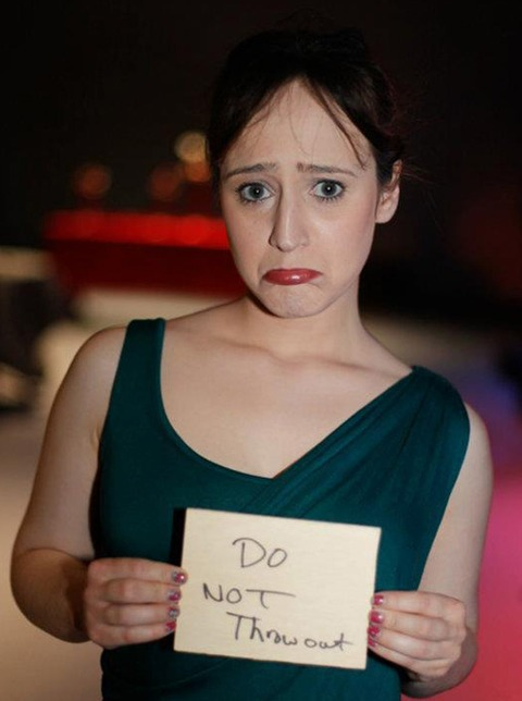 Mara Wilson is now a writer and posted a photo recently on facebook!