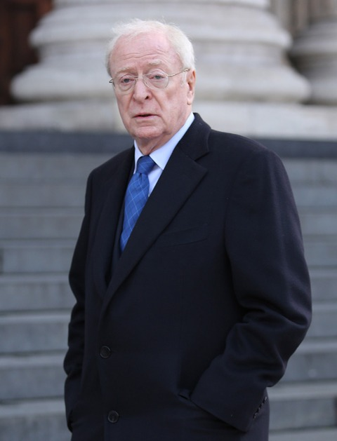 """Michael Caine 80, is still acting today. His most recent movie is """"The Dark Knight Rises."""""""
