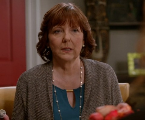 "Miriam Flynn, 62, recently appeared in a few episodes of the TV show ""Suburgatory."""